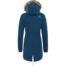The North Face W's Zaneck Parka Blue Wing Teal/Blue Wing Teal